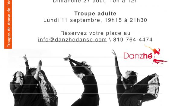 Auditions saison 2017-2018